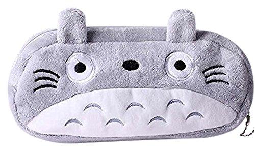 Totoro Cute Plush Pencil and Pen Bag
