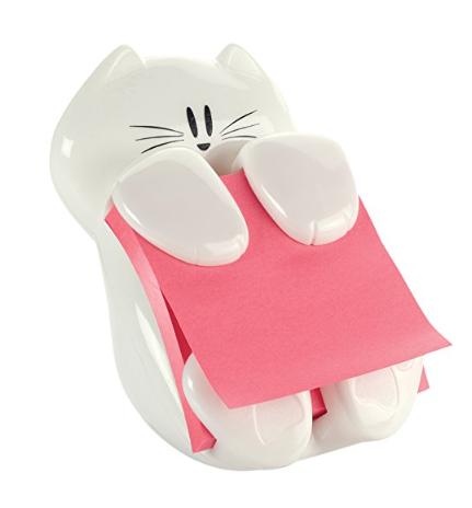 Cute Cat Post-it Note Dispenser
