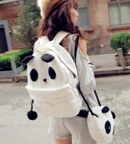 Cute Panda Bear Packpack