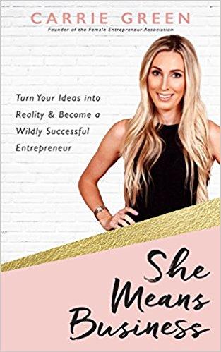 She Means Business, Top inspiring books for female entrepreneurs, bloggers and lady bosses - Lola Celeste